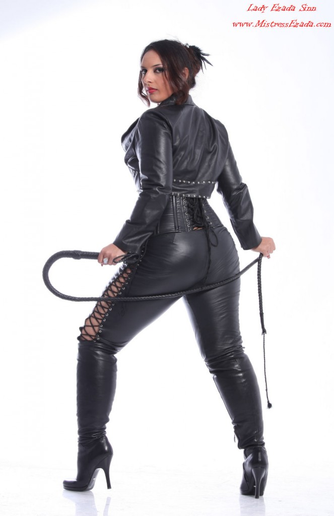 leather goddess beautiful