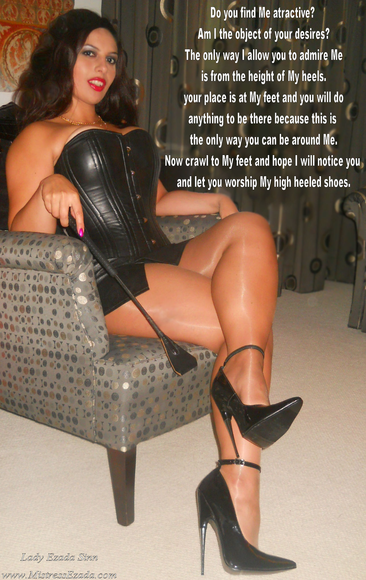 high heel dominatrix