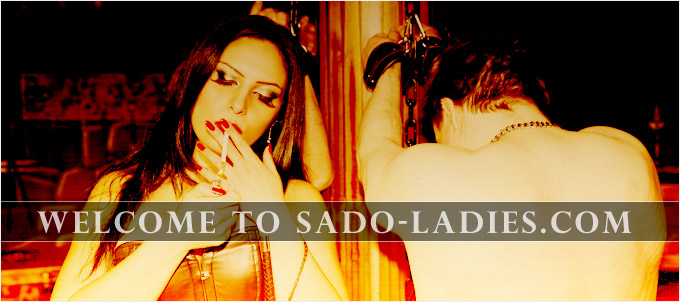 Ezada smoking sado-ladies
