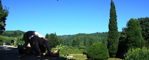 Portugal, Mateus castle gardens