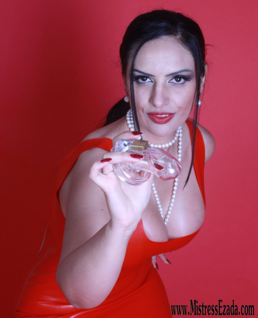 Mistress Ezada controls your little cock