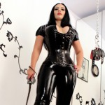 latex goddess worship