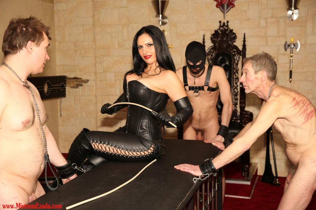 Mistress Ezada Sinn - femdom polyandry