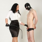 Chastity inspection by Mistress Ezada Sinn
