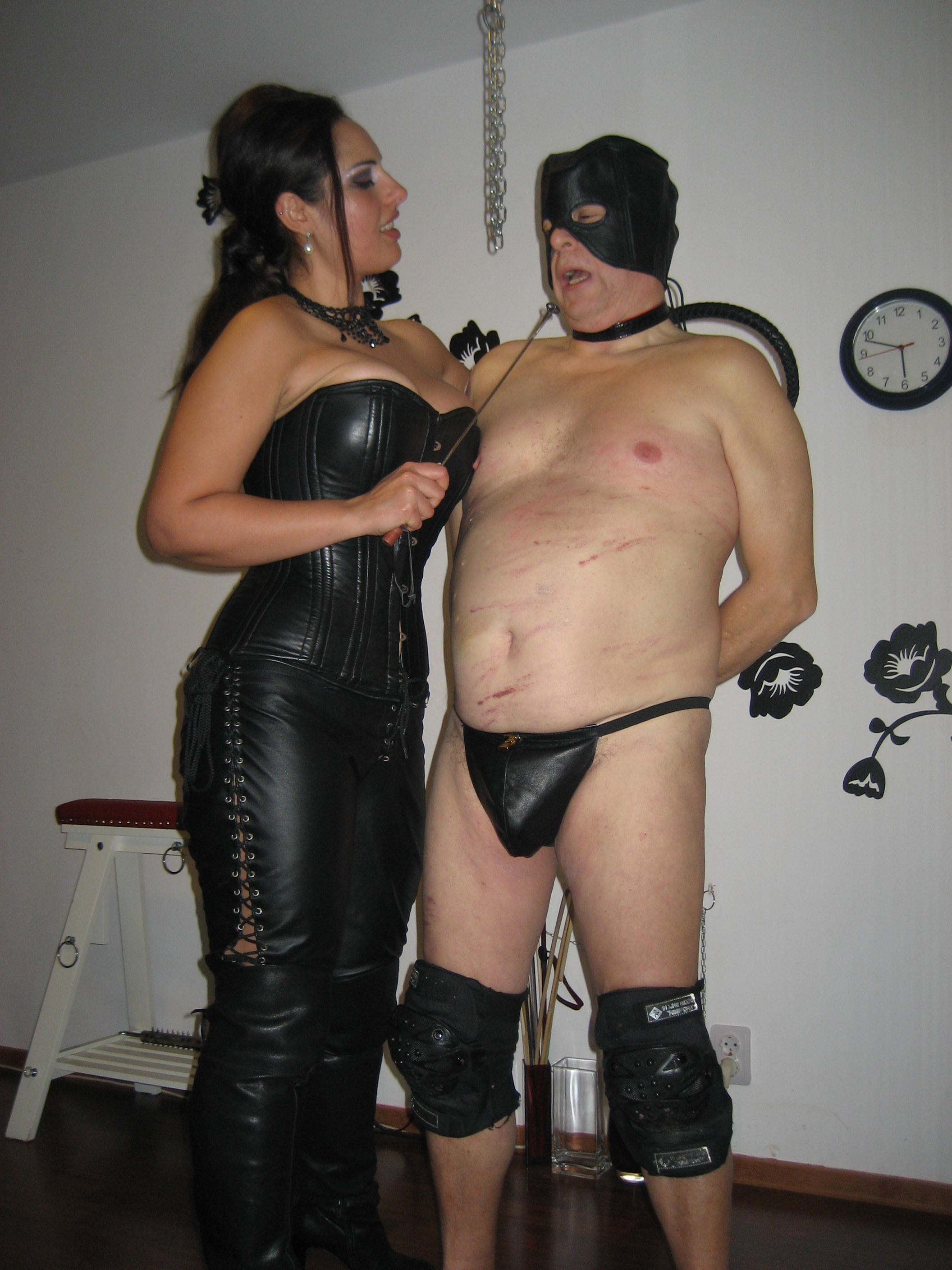 Gagged and bound women