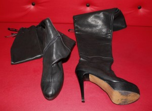 worn high heels sell