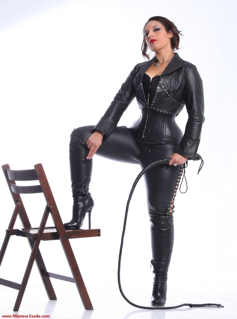 Mistress Ezada Sinn Romania with a bullwhip large