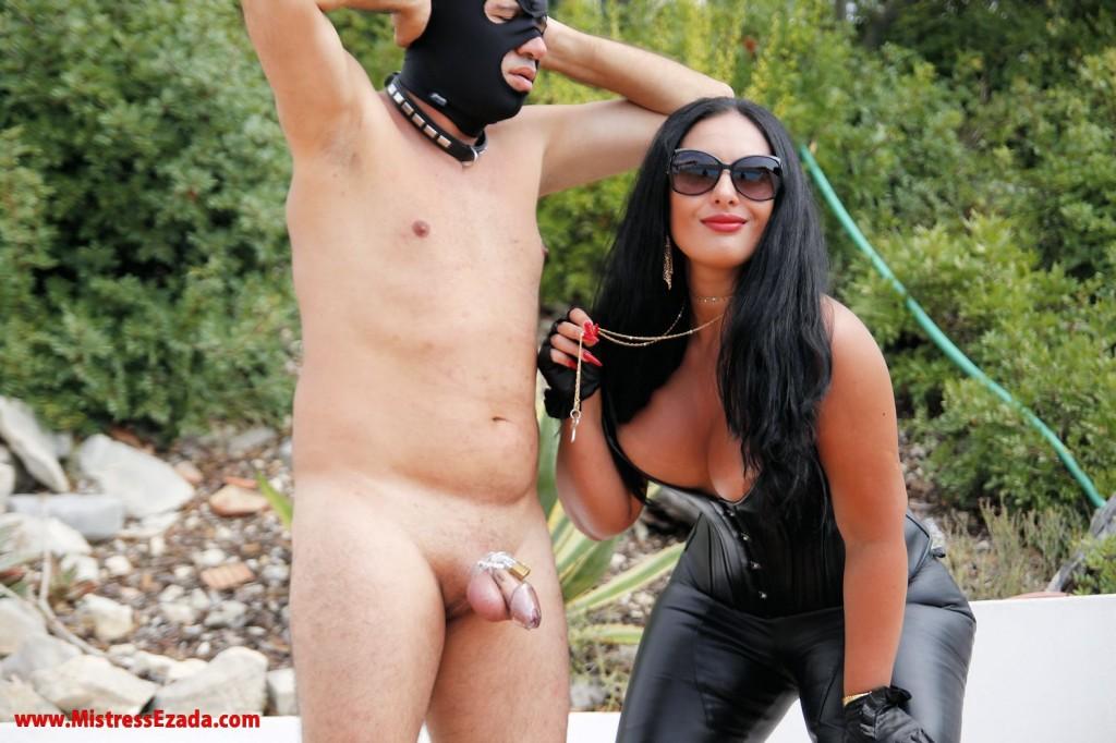 Submissive orgasm control