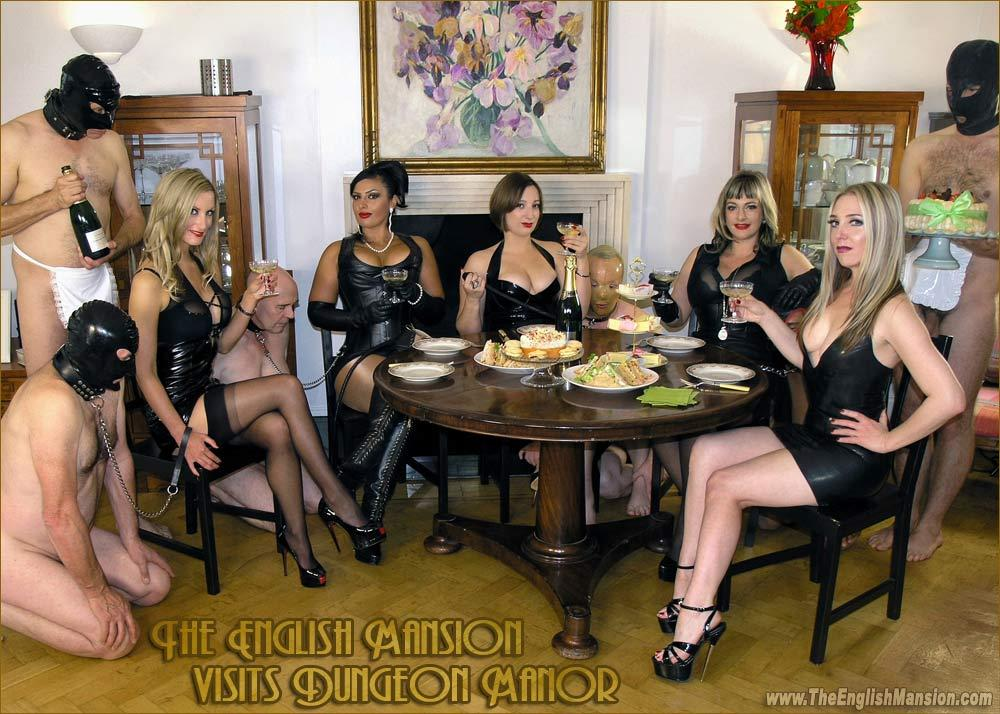 Ezada Sinn Sidonia Evilyne The English Mansion dinner party