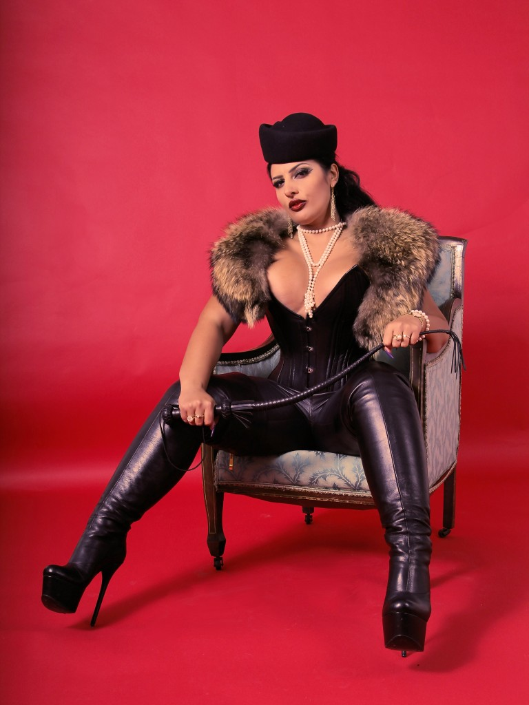 fur, leather, boots, domina