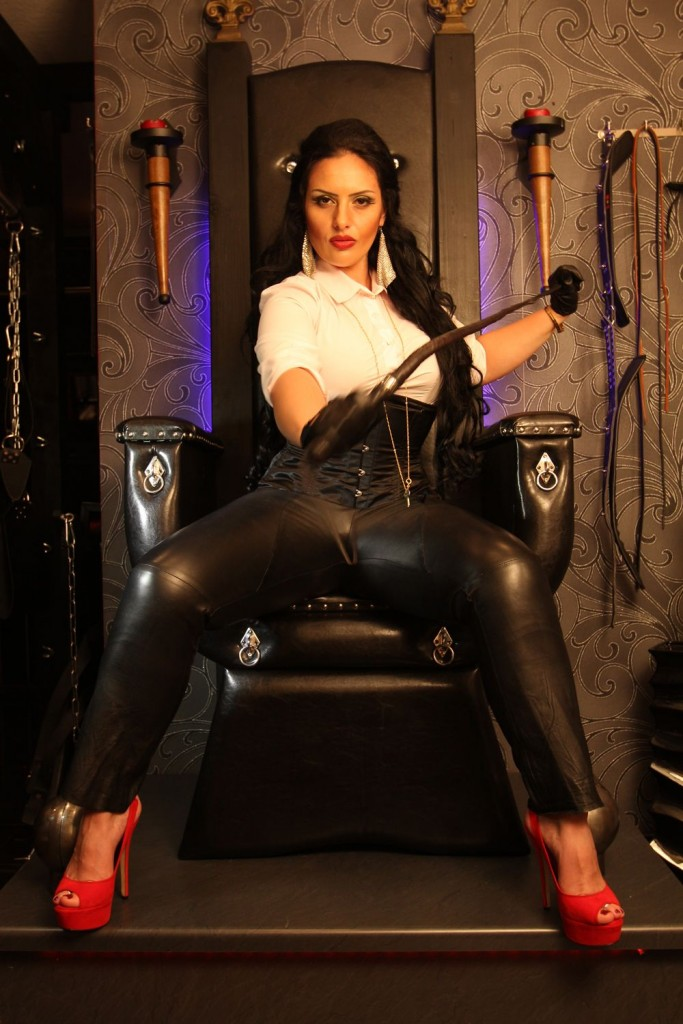 Mistress Ezada Sinn leather pants