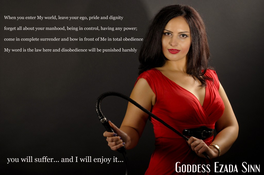 Goddess Ezada Sinn female supremacy