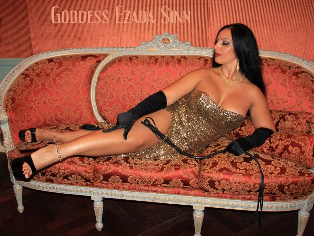 Goddess Ezada Sinn Femdom Decadence party