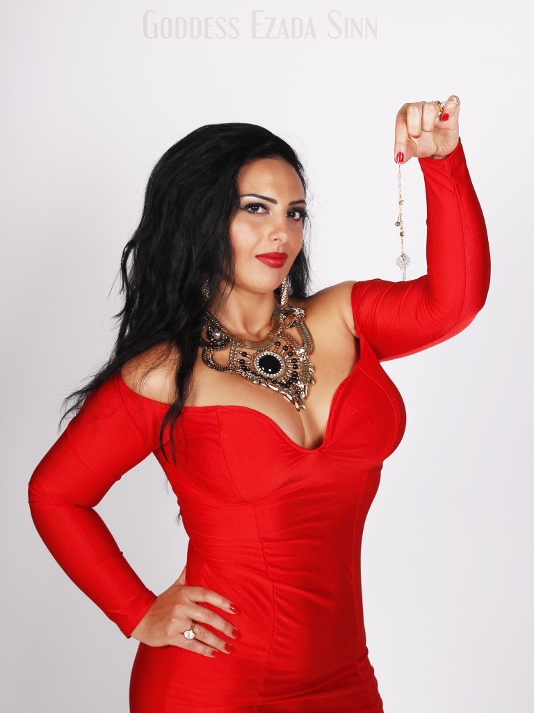 Goddess Ezada Sinn female supremacy male chastity enforcement