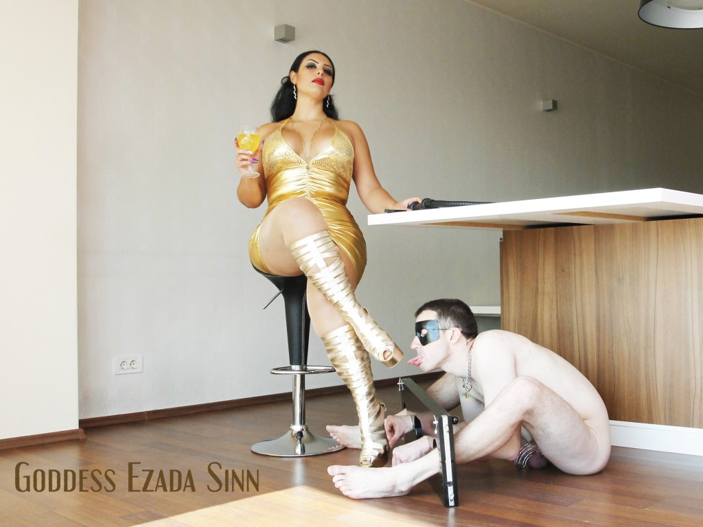 Goddess Ezada Sinn femdom party female supremacy