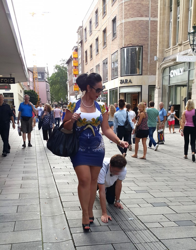 public humiliation, dog training