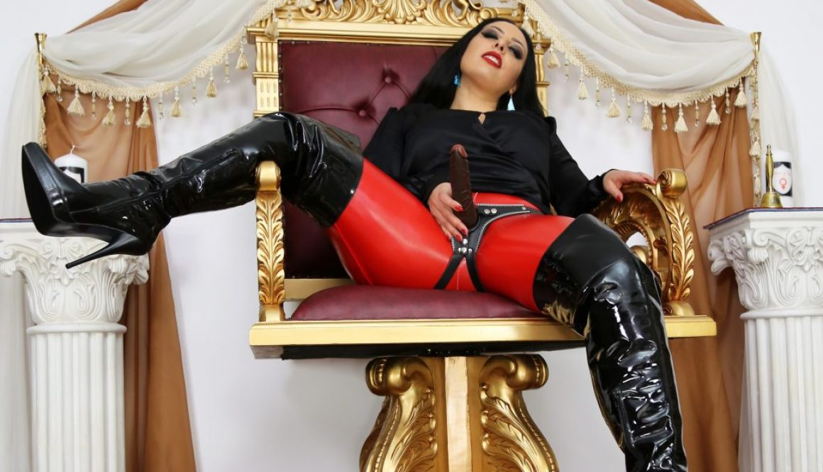 The importance of strap-on pegging in female domination