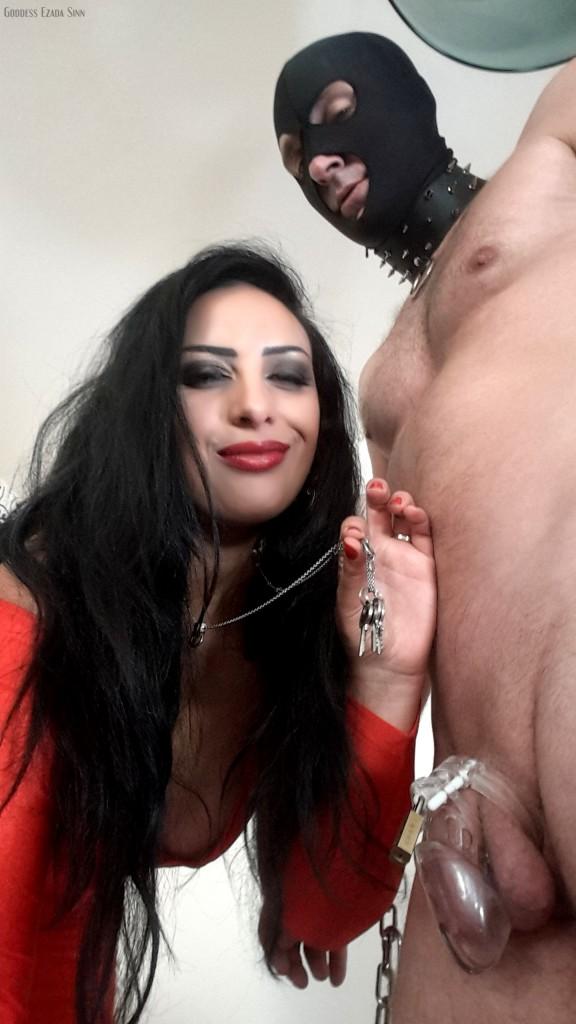 Chastity training Ezada Sinn Bucharest