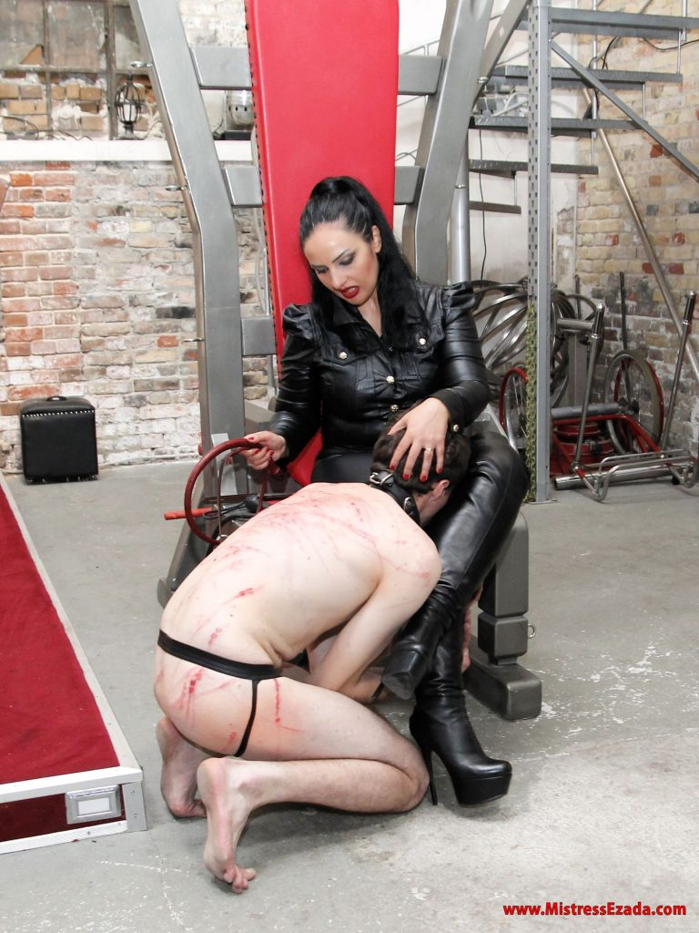 After care whipping ezada sinn slave