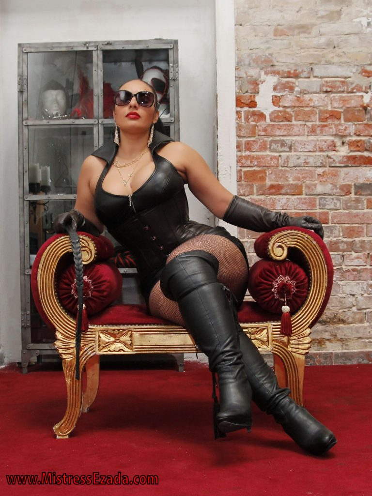 Leather Goddess Female Supremacy Ezada Sinn