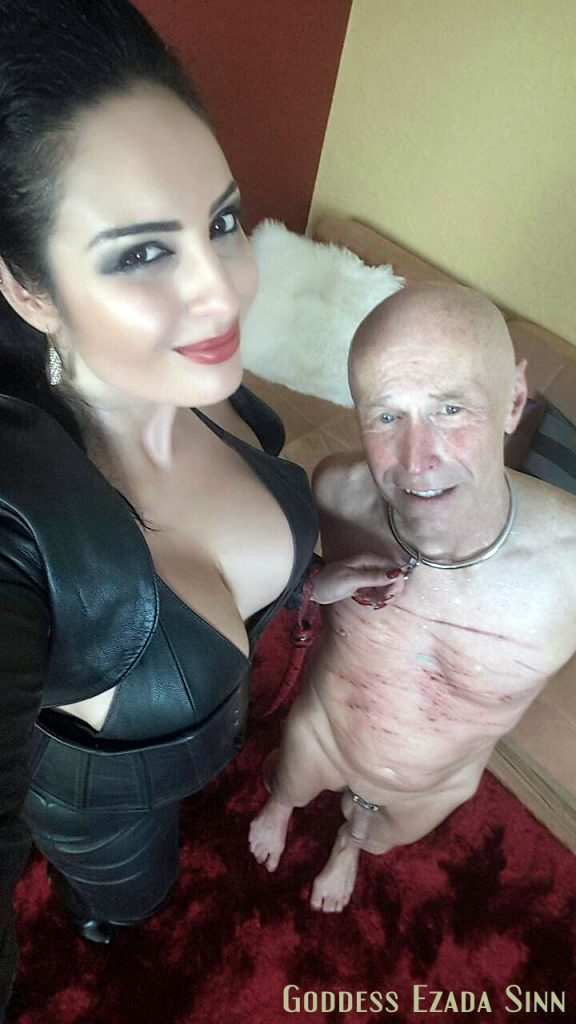 after whipping Ezada Sinn sit single tail