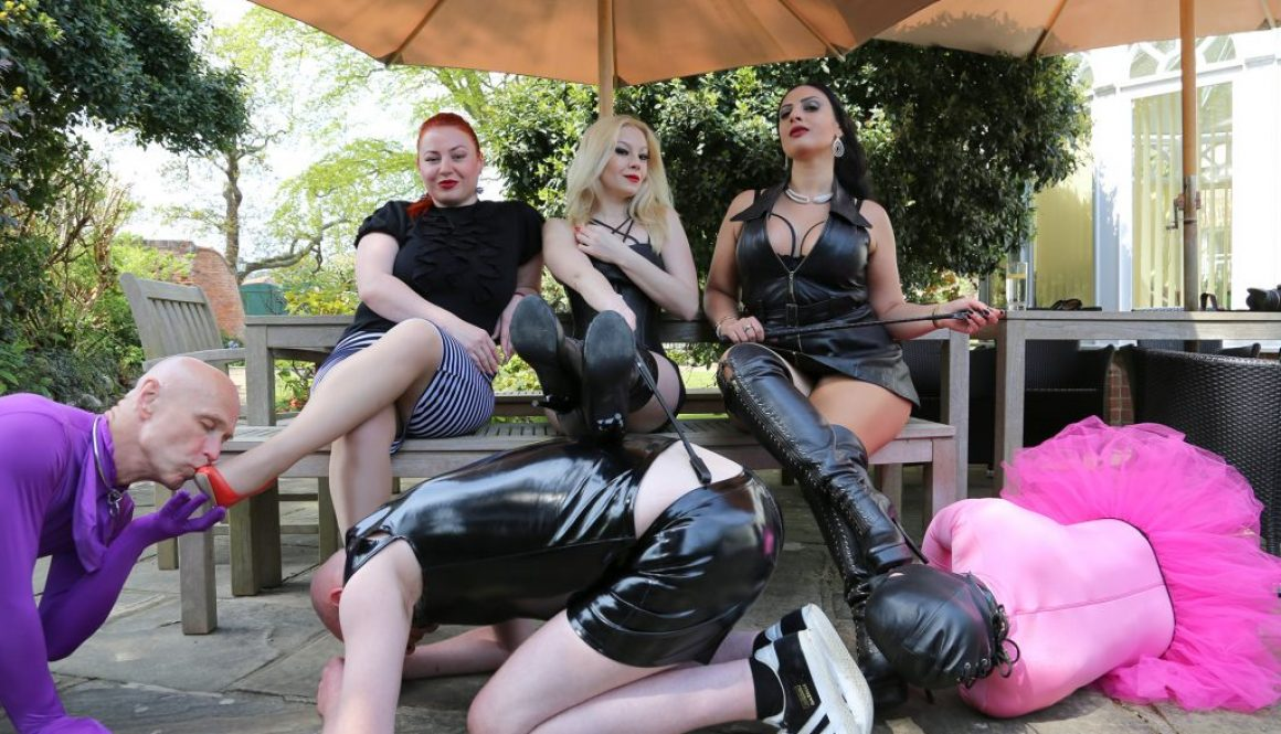 pink poodle at the Femdom Retreat – part 2
