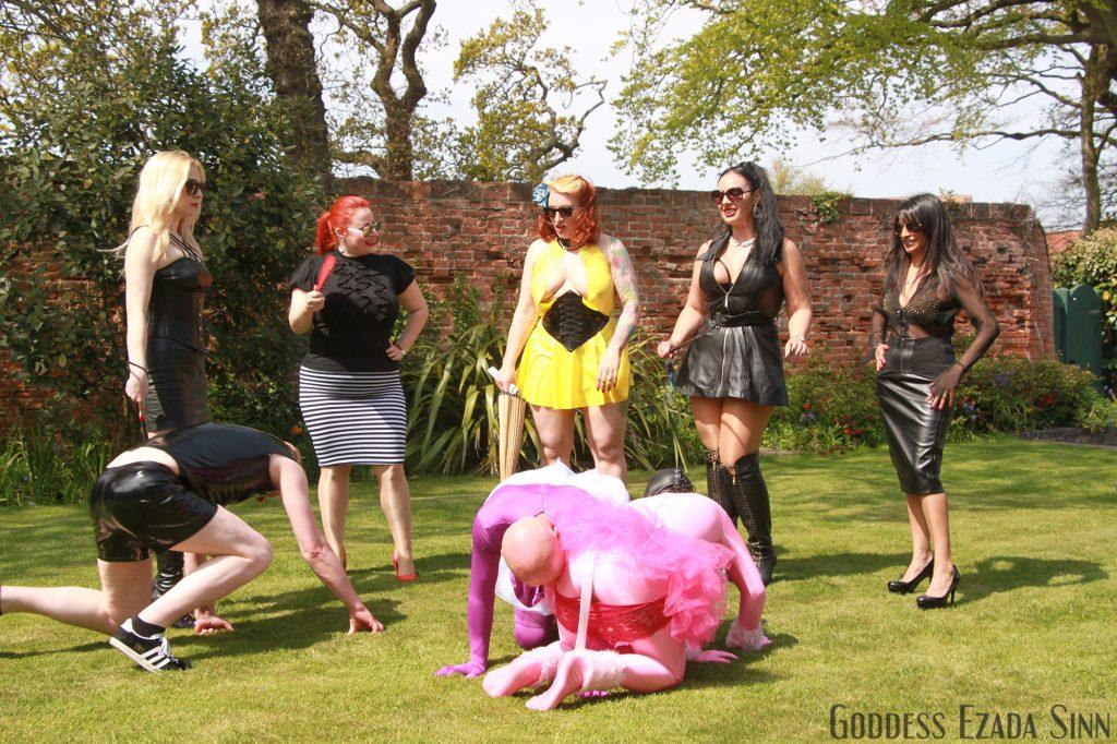 Femdom Party female supremacy Ezada Sinn Lilse von Hitte Mistress Devina Lady Yna Ava von Medisin