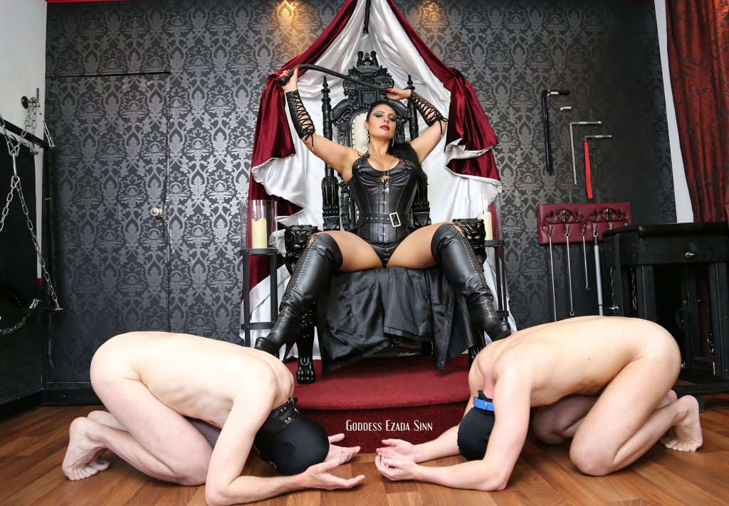 Goddess Ezada Sinn female supremacy queen
