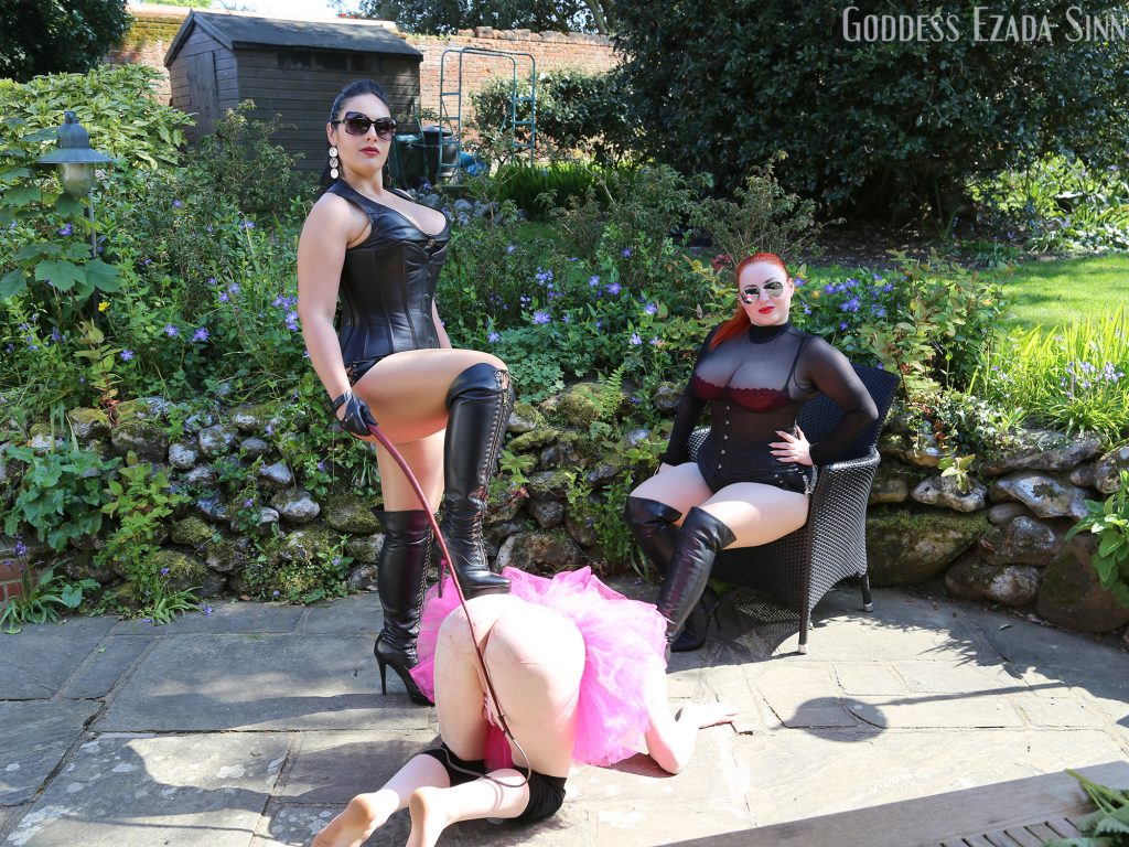 single tail whipping femdom