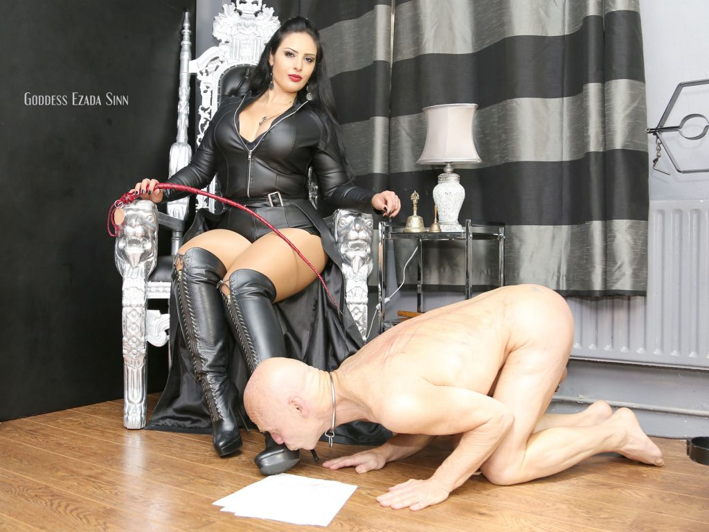 slave ownership contract Goddess Ezada Sinn