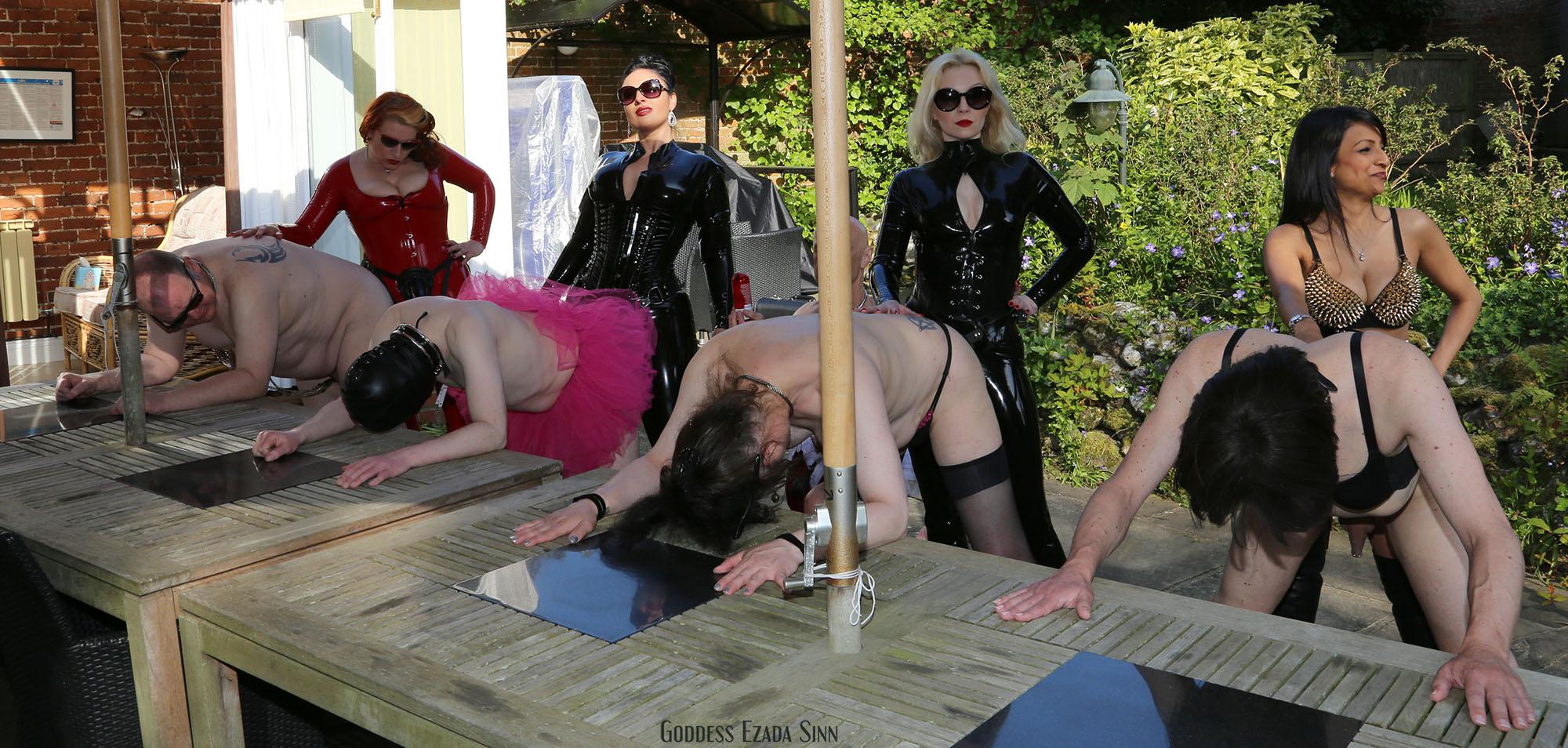 Female orgy
