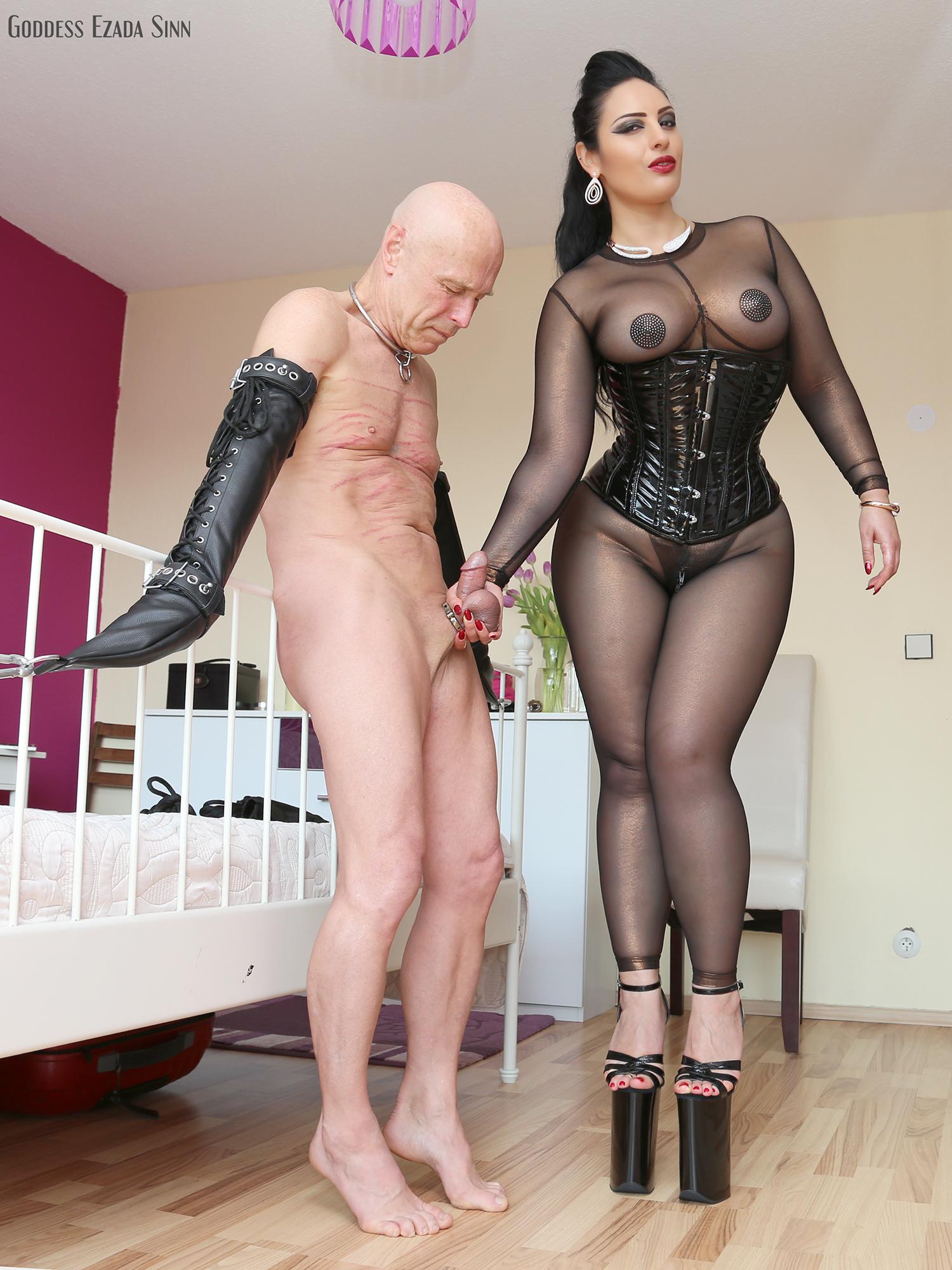 Ezada sinn mistress The interrogation