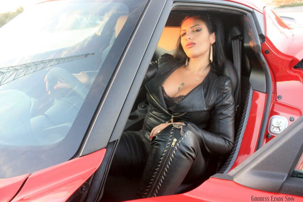 Goddess Ezada Sinn car