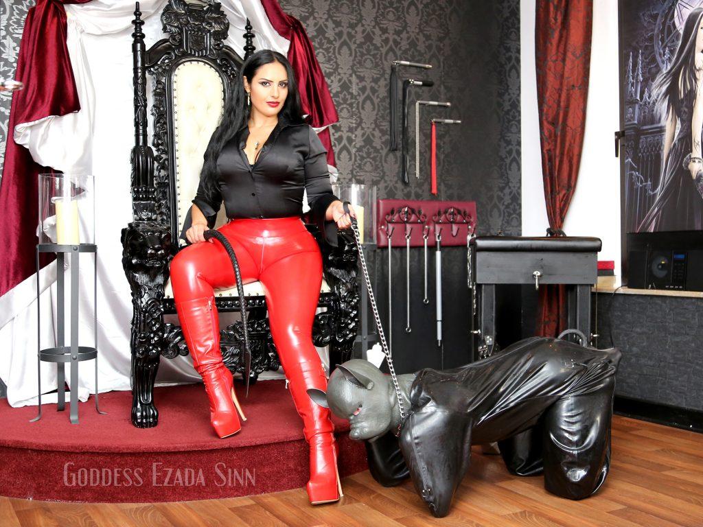 Mistress and pet