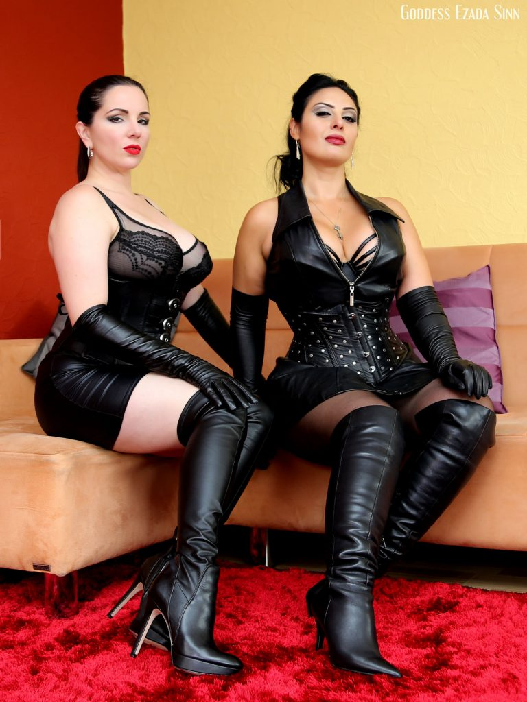 Ezada Sinn Alexandra Snow leather boots Goddess