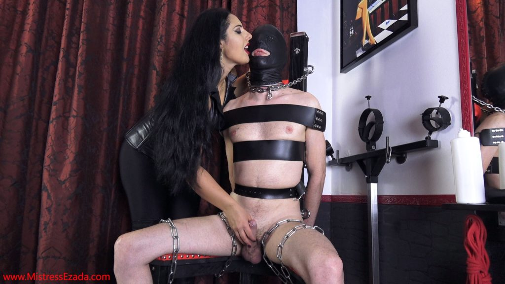Ezada Sinn orgasm control handjob submissive husband