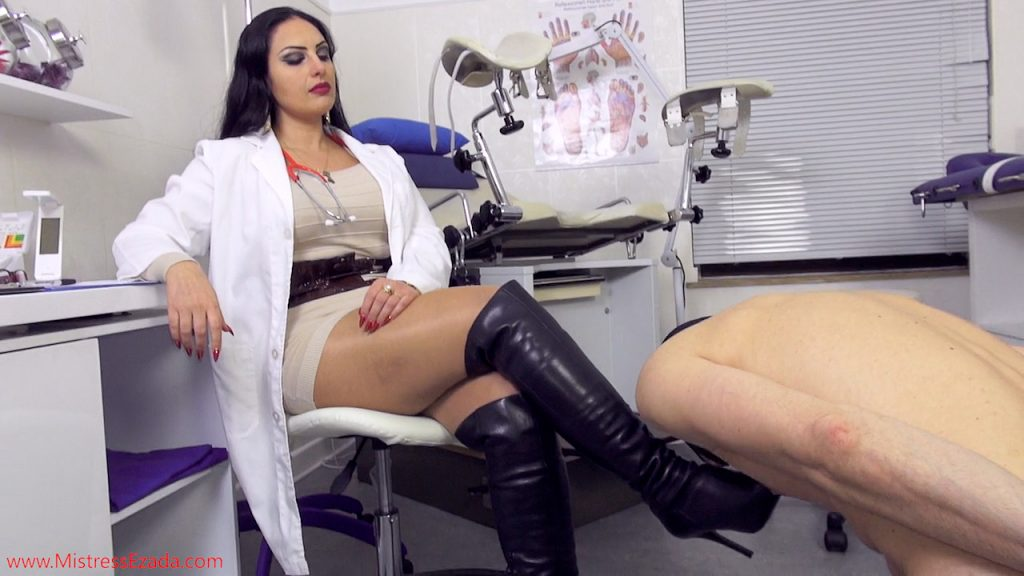Next day Visit female doctor fetish