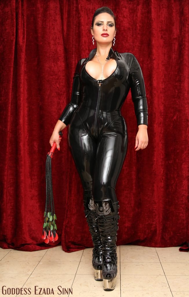 goddess-ezada-sinn-latex-flogger-rose