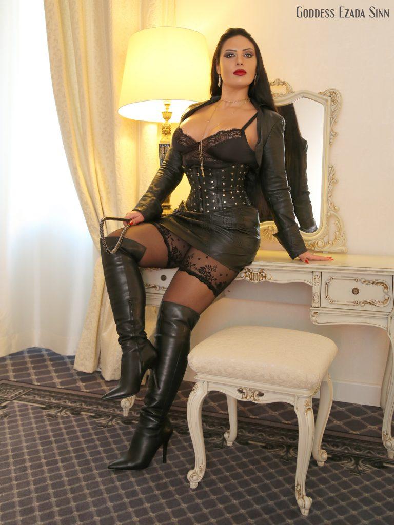leather Goddess Ezada Sinn femdom