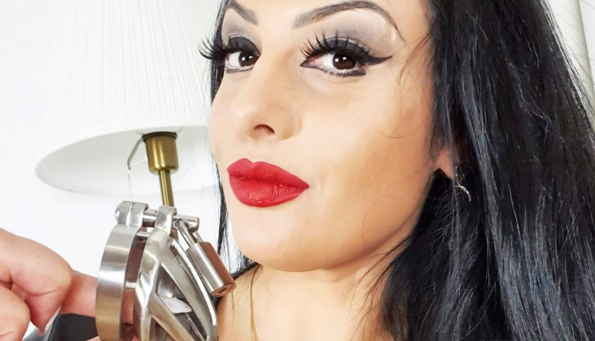 April in chastity on OnlyEzada.com